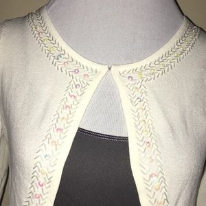 NWT Beaded Embellished Cardigan